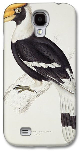 Great Hornbill Galaxy S4 Case by John Gould