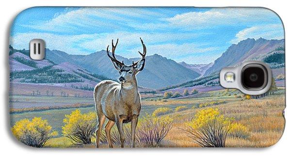 'buck Deer-tom Miner Basin' Galaxy S4 Case by Paul Krapf