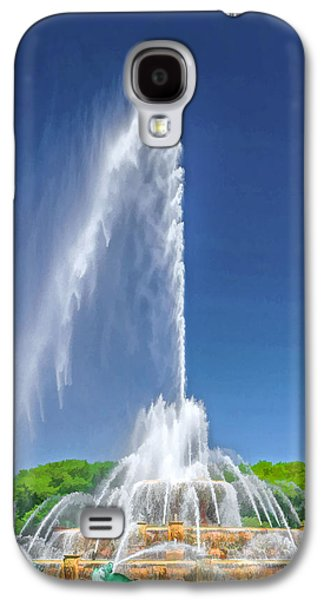 Buckingham Fountain Spray Galaxy S4 Case