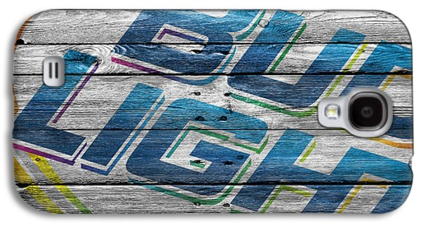 Bud Light Galaxy S4 Case by Joe Hamilton