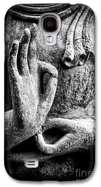 Buddha Hand Mudra Galaxy S4 Case by Tim Gainey