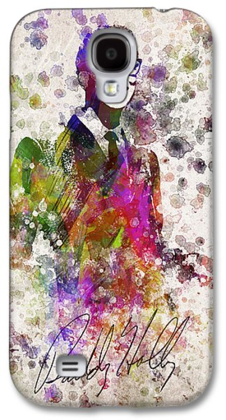 Buddy Holly In Color Galaxy S4 Case