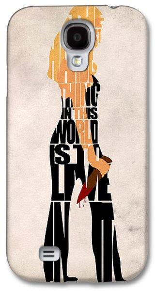 Buffy The Vampire Slayer Galaxy S4 Case by Ayse Deniz
