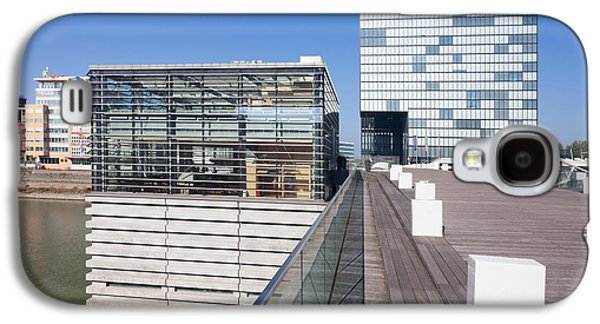 Buildings At A Harbor, Cubana Galaxy S4 Case by Panoramic Images