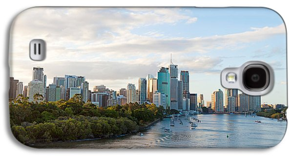 Buildings At The Waterfront, Brisbane Galaxy S4 Case by Panoramic Images