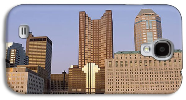 Buildings In A City, Columbus, Franklin Galaxy S4 Case by Panoramic Images