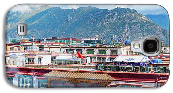 Buildings In A City, Lhasa, Tibet, China Galaxy S4 Case by Panoramic Images