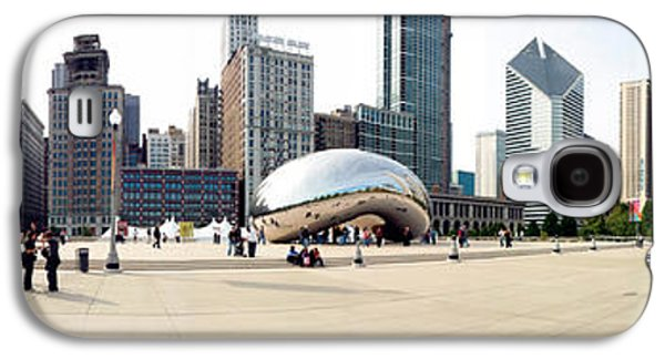 Buildings In A City, Millennium Park Galaxy S4 Case by Panoramic Images