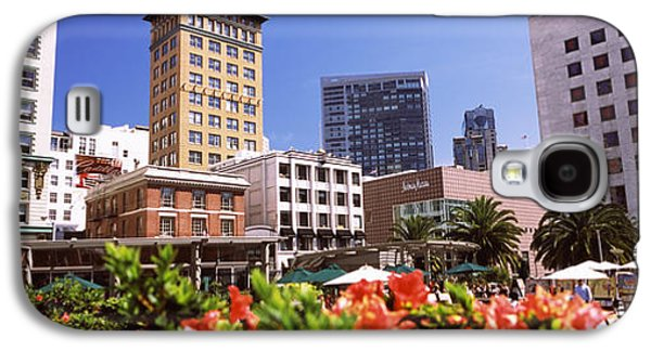 Buildings In A City, Union Square, San Galaxy S4 Case by Panoramic Images