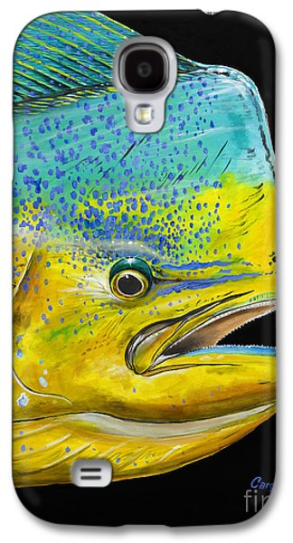 Bull Head Off0033 Galaxy S4 Case by Carey Chen