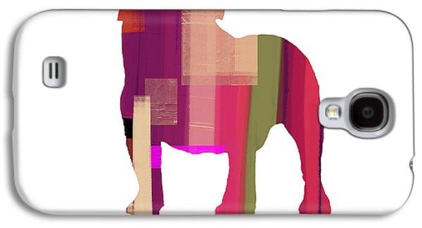 Bulldog Galaxy S4 Case by Naxart Studio