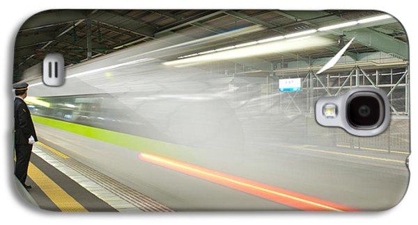 Bullet Train Galaxy S4 Case by Sebastian Musial