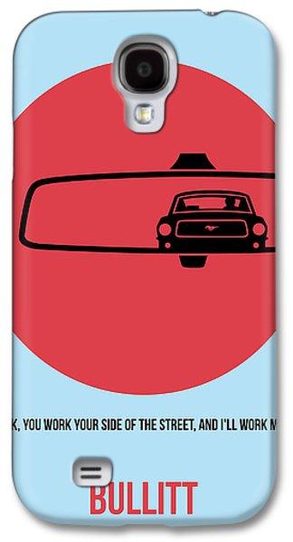 Bullitt Poster 1 Galaxy S4 Case by Naxart Studio