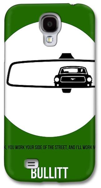Bullitt Poster 2 Galaxy S4 Case by Naxart Studio