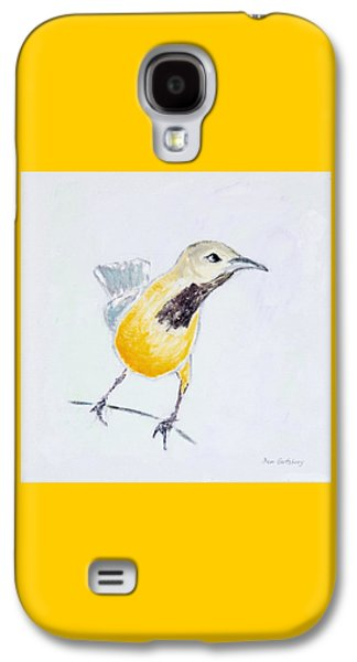 Bullock's Oriole No 1 Galaxy S4 Case by Ben Gertsberg