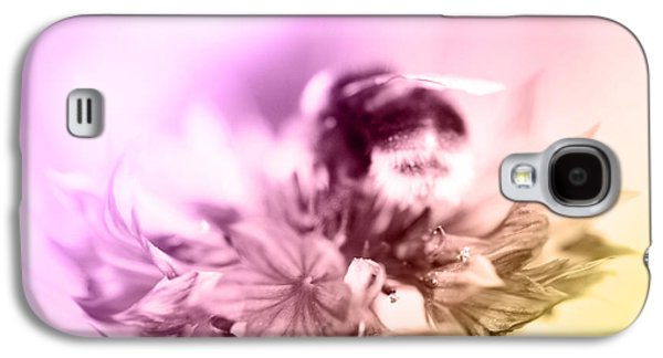 Bumblebee On Flower  Galaxy S4 Case