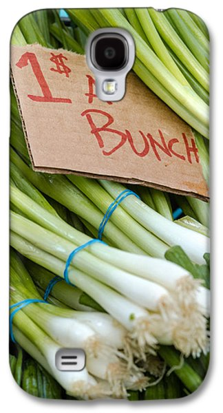 Bunches Of Onions Galaxy S4 Case by Teri Virbickis