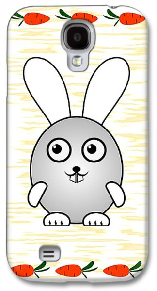 Bunny - Animals - Art For Kids Galaxy S4 Case