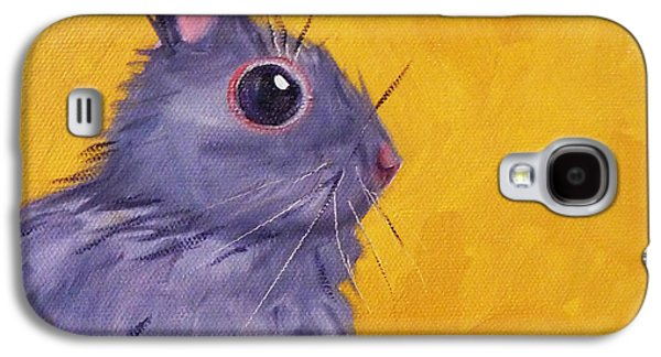 Rabbit Galaxy S4 Case - Bunny by Nancy Merkle