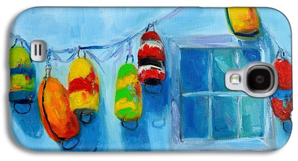 Painted Buoys And Boat Floats  Galaxy S4 Case by Patricia Awapara