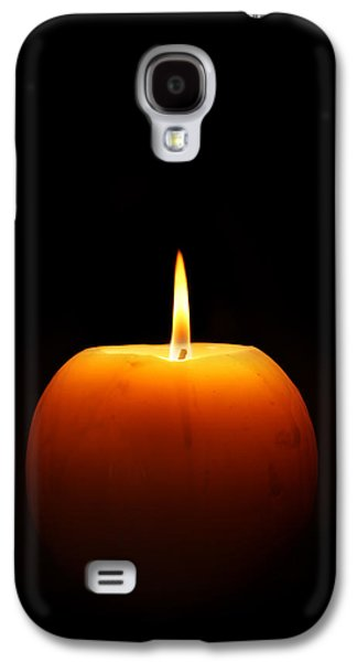 Burning Candle Galaxy S4 Case by Johan Swanepoel