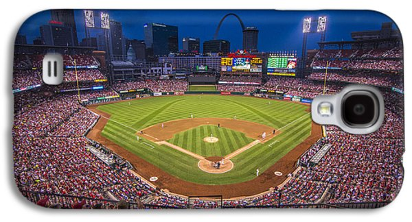 Busch Stadium St. Louis Cardinals Night Game Galaxy S4 Case