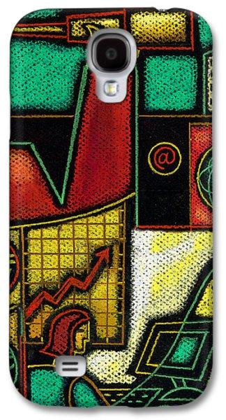 Business Galaxy S4 Case by Leon Zernitsky