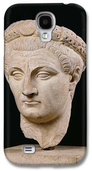 Bust Of Emperor Claudius Galaxy S4 Case by Anonymous