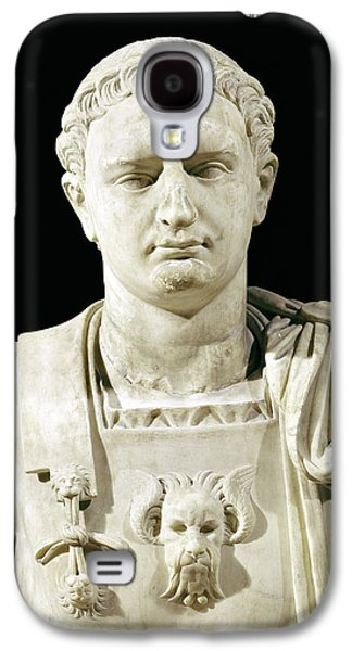 Bust Of Emperor Domitian Galaxy S4 Case by Anonymous