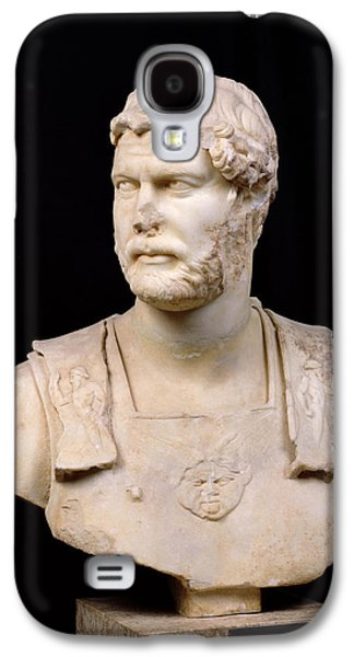 Bust Of Emperor Hadrian Galaxy S4 Case by Anonymous