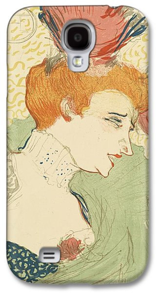 Bust Of Mlle. Marcelle Lender Galaxy S4 Case by Toulouse-Lautrec
