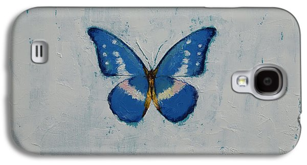 Butterfly Galaxy S4 Case by Michael Creese