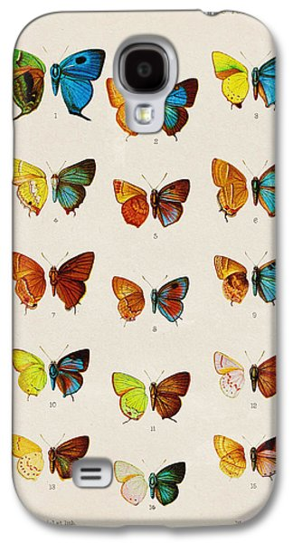 Butterfly Plate Galaxy S4 Case by Pati Photography