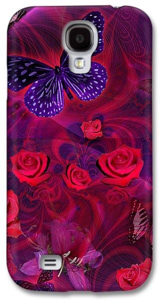 Butterfly Rose Galaxy S4 Case