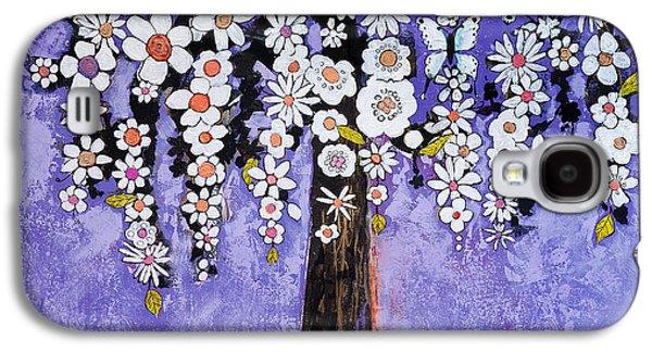 Butterfly Tree Galaxy S4 Case by Blenda Studio