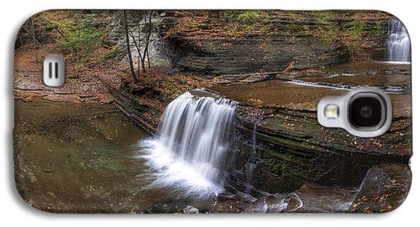 Buttermilk Creek Falls Galaxy S4 Case by Mark Papke