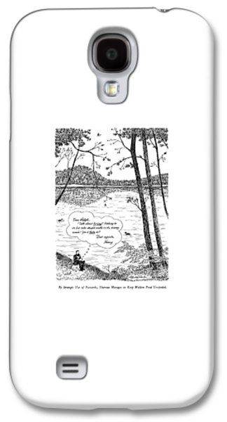 By Strategic Use Of Postcards Galaxy S4 Case