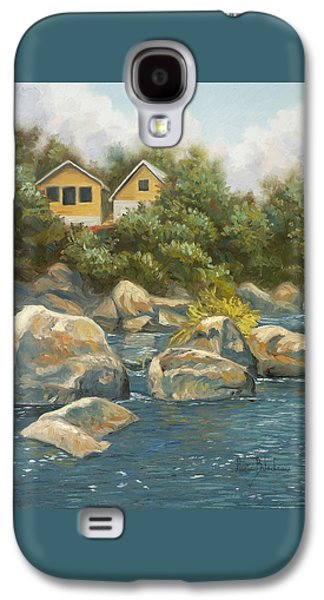 By The River Galaxy S4 Case by Lucie Bilodeau