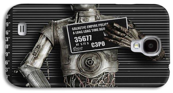 C-3po Mug Shot Galaxy S4 Case