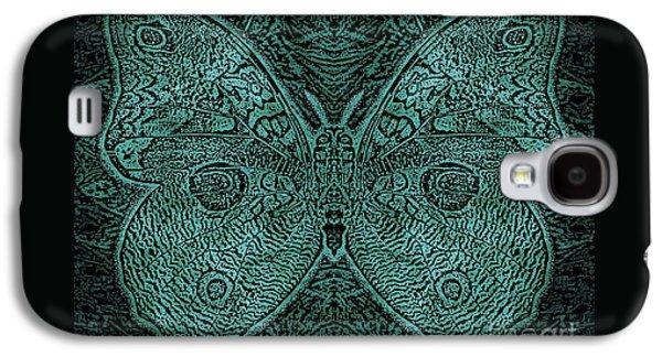 C Moth L3 Wd Midnight Green Galaxy S4 Case