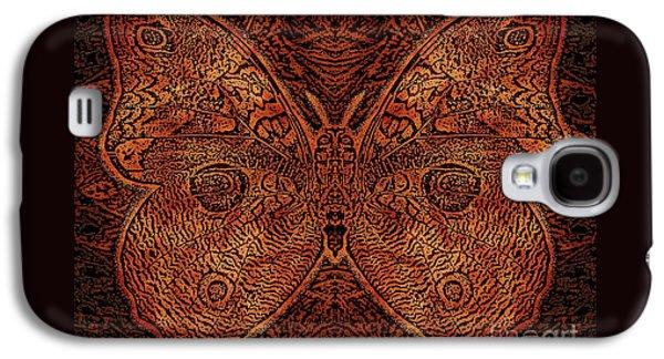C Moth L3 Wd Red Galaxy S4 Case