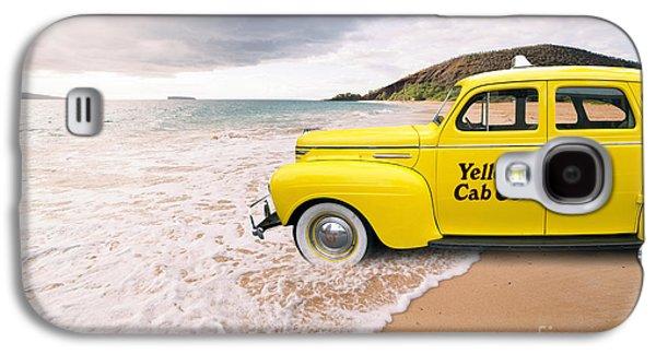 Cab Fare To Maui Galaxy S4 Case by Edward Fielding