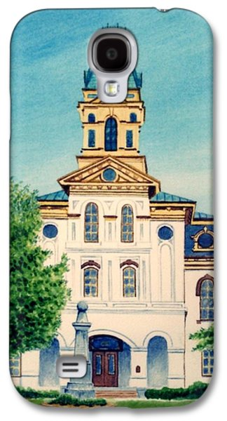 Cabarrus County Courthouse Galaxy S4 Case by Stacy C Bottoms