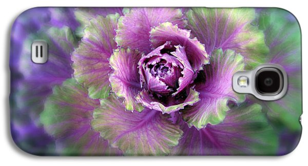 Cabbage Flower Galaxy S4 Case