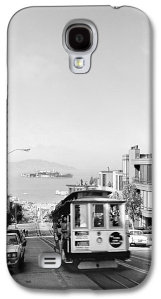 Cable Car On Hyde Street Hill Galaxy S4 Case by Underwood Archives