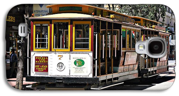 Cable Car - San Francisco Galaxy S4 Case