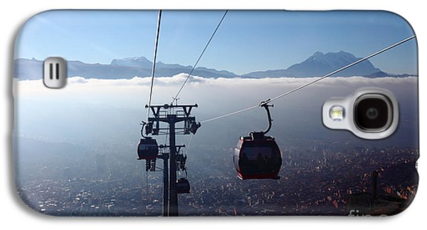 Cable Cars Over La Paz City Galaxy S4 Case