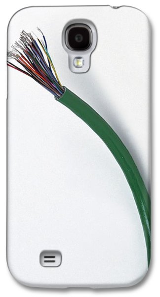 Cable With The Wires Exposed Galaxy S4 Case by Dorling Kindersley/uig