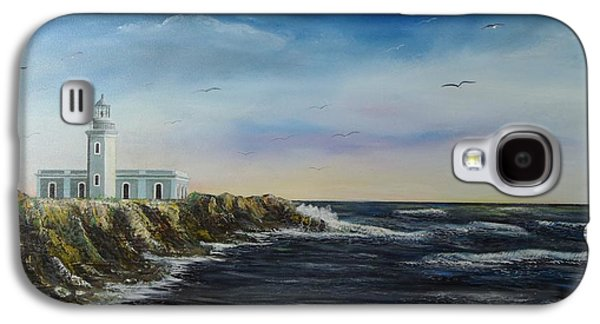 Cabo Rojo Lighthouse Galaxy S4 Case by Tony Rodriguez