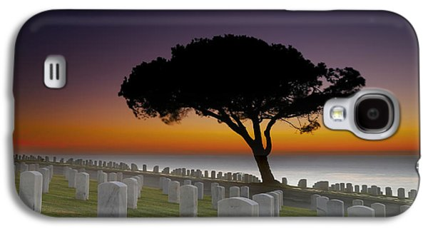 Cabrillo National Monument Cemetery Galaxy S4 Case by Larry Marshall
